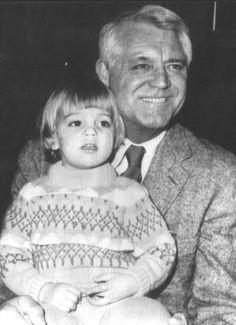 Jennifer and Cary Grant