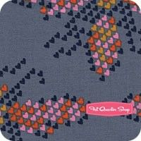 Mustang Denim I Heart Bees Yardage SKU# 0004-02