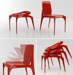 Janus Chair by Jang Yoon