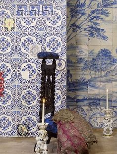 1000 images about christian lacroix wallpaper on pinterest christian lacro - Tissus christian lacroix ...