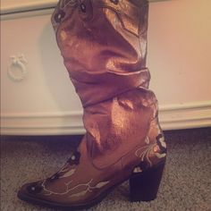 Cowgirl Boots Perfect boots for a country concert! Shoes