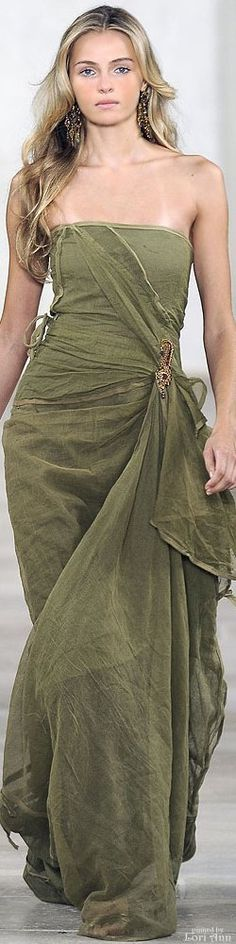 http://www.sweatertrends.com/category/ralph-lauren/ Valentina Zelyaeva ~ Ralph Lauren  Spring 2009   RTW      jαɢlαdy