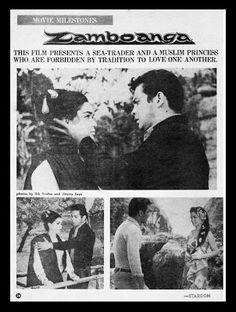 Zamboanga (1966)  (FPJ Productions, starring Fernando Poe, Jr., Susan Roces, Johnny Monteiro, Ruben Rustia, Vic Silayan, Lito Anzures, Veronica Palileo, Pedro Faustino, featuring Pilita Corrales, directed by Efren Reyes)