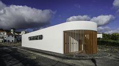 Ribeira das Taínhas Community Lounge, Vila Franca Do Campo, 2015 - NEW Studio…