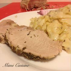 Rôti de porc au lait by Thermomix - Mimi Cuisine