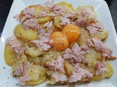 PATATAS A LO POBRE GRATINADAS CON HUEVOS Y JAMÓN COCIDO CBF@ Potato Salad, Food And Drink, Prosciutto Cotto, Ethnic Recipes, Blog, Food Crafts, Cooking Recipes