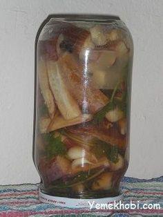 Yağlı sirkeli patlıcan turşusu tarifi
