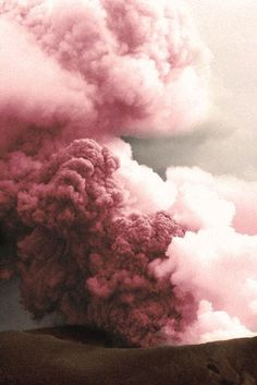 Cloudy with a chance of pink #pink #color