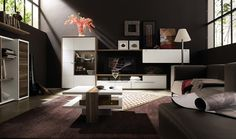 Gorgeous Modern Tables For Living Room Modern Living Room Furniture Ikea Living Room, Small Living Rooms, Living Room Modern, Interior Design Living Room, Living Room Designs, Cozy Living, Bedroom Designs, Simple Living, Interior Paint