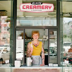 San Francisco  ~ The coolest ice cream in town. When you're craving a cone, don't miss Bi-Rite Creamery, with its legendary salted caramel ice cream (also available in soft serve) and just as iconic out-the-door line.