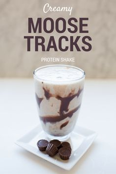 Creamy Moose Tracks Protein Shake | Protein Recipes