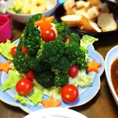 みんなで誕生日パーティーです - 18件のもぐもぐ - ポテトサラダツリー by miuyuwi