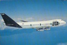 UTA (France) Boeing 747-200B