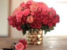 How To: Ombre Rose Arrangement