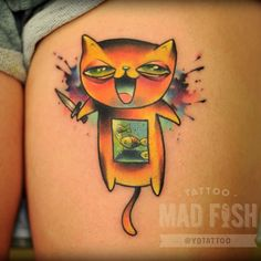 Done by Anton Kovrigin, tattooist at Mad Fish Tattoo Studio (Moscow), Russia TattooStage.com - Rate & review your tattoo artist. #tattoo #tattoos #ink