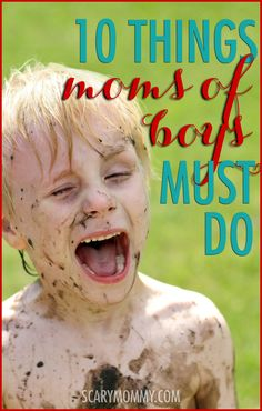 Appreciate That Farts Are Funny (And Other Things Moms of Boys Must Do)! Parenting humor about raising sons via @ScaryMommy