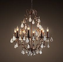 Florian mercury glass chandelier available in small medium and florian mercury glass chandelier small aloadofball Gallery