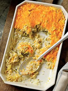 Chicken-Broccoli Casserole