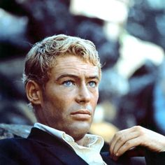 Peter O'Toole was gorgeous in his day, those blue eyes!