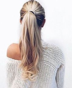 now thats a ponytail.