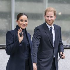 """See Prince Harry's """"Archie's Papa"""" Briefcase in NYC: Photos"""
