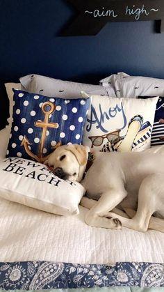 Seaside Style, Seaside Decor, Coastal Decor, House By The Sea, Preppy Girl, Nautical Home, Nautical Bedroom, Nautical Style, Nautical Fashion