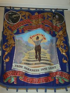 Banner - displaying the miners ideals