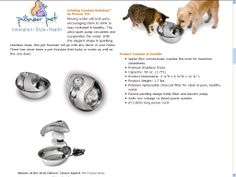 Drinking Fountain, Moving Water, Rain Drops, Dog Bowls, Stainless Steel, Cat, Ideas, Design, Cat Breeds