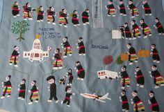 Hmong story cloths tell a tale of a culture, once far away, that is now interwoven into the city's life.