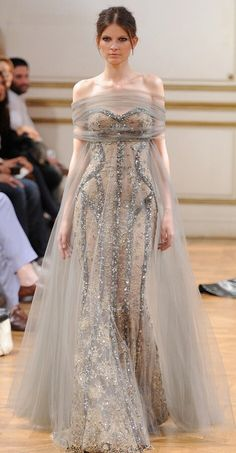 Zuhair Murad at Paris Haute Couture Fashion Week Haute Couture Gowns, Haute Couture Fashion, Couture Dresses, Fashion Dresses, Zuhair Murad, Inspiration Mode, Fantasy Dress, Mode Style, Beautiful Gowns