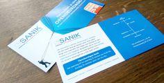 Flyer opening nieuwe showroom Sanik