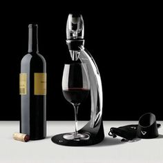 $39.95-$65.41 The elegant Tower cradles the Vinturi Aerator and creates a dramatic presentation for conveniently aerating your wine. Vinturi aerator sits on top of tower allowing for easy, hands-free operation; aerator not included. Tower features a stylish no-splash grate which eliminates mess. The glossy, clear acrylic is elegant and clean; contemporary design complements Vinturi and accents a ...