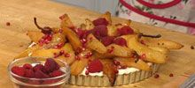 Veria.com: Recipe guide to Peaceful Pear & Pomegranate Tart. A resource for health & fitness recipes. See our natural cooking guide. Get information on healthy food and hundreds of recipes including l