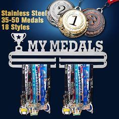 10 hooks Hockey Medal Rack// Key Holder or storage hanger