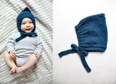 Knitting Patterns For Kids we still have a pair of little caps for the mosquito heads - this one here at . Knitted Hats Kids, Knitting For Kids, Easy Knitting, Baby Knitting Patterns, Diy Crochet, Crochet Hats, Dwarf Hat, Couture Sewing, Headband Pattern