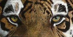 A close look at gouache by Robbie Graham Auburn Football, Auburn Tigers, Gouache Color, Auburn University, Big Cats, Cool Art, Cute Animals, Eagle, Creatures