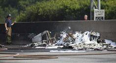 Cuatro muertos al caerse avioneta en Atlanta
