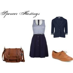 Spencer Hastings Inspired Outfit