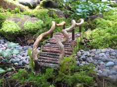 Miniature Foot Bridge For Fairy Garden Or Terrarium By JonahsSign On Etsy  Https://www.etsy.com/listing/110817637/miniature Foot Bridge For Fairy Gau2026