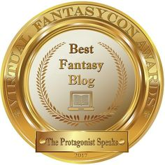 "Guess who recieved ""Best Fantasy Blog"" of 2017 at Virtual FantasyCon this year? :-) If you like #fantasy #scifi #historicalfiction or reading in general - head over to TheProtagonistSpeaks.com  #amwriting #fantasy #authorsofinstagram #bookworm #booknerd #indieauthor #booklover #lovereading #tbr #bookstagram #historicalfiction #amwritingfantasy #award"