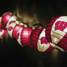 Wisconsin Badgers Team Lights & Lights Set