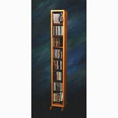 Wood Shed 800 Series 112 CD Dowel Multimedia Storage Rack Finish: Dark