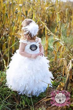 Angels feathers on my dress  A Dainty Floor by LoveBabyJCouture, $144.00