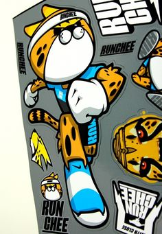 All round runner cheetah 'RUNCHEE' character Brand character design & application  introduction.  Designed by doldol. (www.doldoly.com) (www.graphicer.co.kr) #logo #캐릭터디자인 #캐릭터 #longboard #sk8 #skateboard #helmet #logodesign #brand  #로고 #character #doldol #로고제작 #skateboard #longboard #일러스트 #엠블럼 #illustration #돌돌디자인 #snowboard #africa #cheetah #치타 #캐릭터디자이너돌돌 . #휘트니스. #런닝 #달리기 #시각디자인 #로고의뢰 #캐릭터라이센싱 #runchee #bike #surf #일러스트 #그래픽디자인 #doldoldesign #running #특이한티셔츠. #디자인티셔츠 #캐릭터티셔츠 #tshirts…