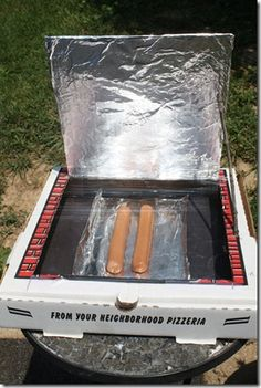 Wow, I can't wait to try out this cool solar oven just for the fun of it.