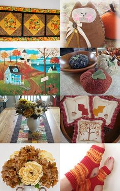 The Colors of Autumn by arcadecache on Etsy--Pinned with TreasuryPin.com