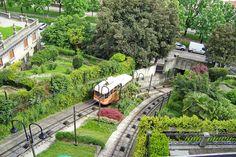 Bergamo, Funicolare di Bergamo Alta - Upper City Funicular