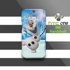 Olaf Frozen HTC One M8 Case Cover Hardshell
