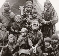Sami Nomad family Nordland Norway