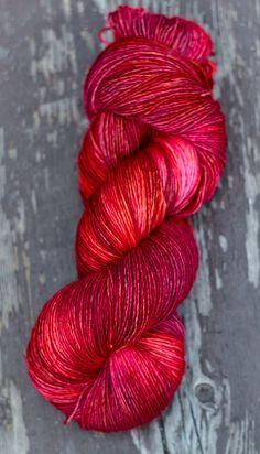 Merino Light Japanese Maple Colour by ColourAdventures on Etsy, $22.00